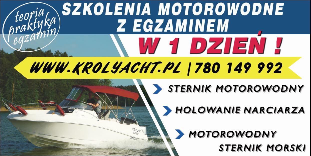 Sternik motorowodny w 1 dzień - TYLKO TERAZ - TYLKO U NAS