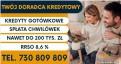 Kredyt Konsolidacyjny do 200 tys - pełna spłata chwilówek i innych kredytów